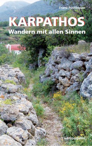 Wandelgids Karpathos   Edition-Galini    Roger Jinkinson