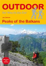 Wandelgids Peaks of the Balkans   Conrad Stein Verlag   Jan Dohren