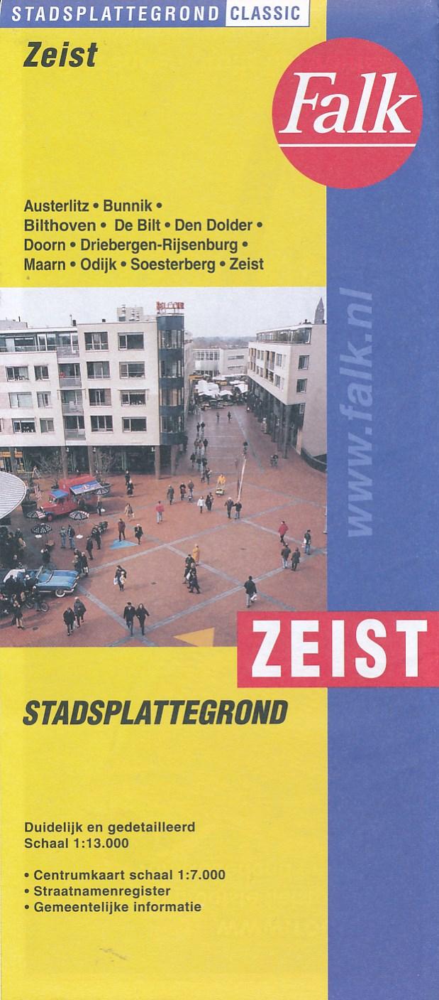 Stadsplattegrond Zeist   Falk