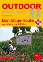 Wandelgids Bonifatius-Route von Mainz nach Fulda   Conrad Stein Verlag   Ingrid Retterath