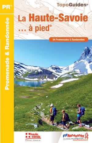 Wandelgids D074 La Haute-Savoie... à pied   FFRP