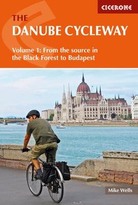 Fietsgids The Danube Cycleway - Donau fietspad   Cicerone   Mike Wells