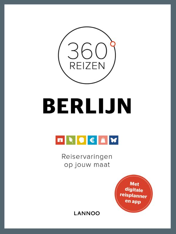 Reisgids 360 graden reizen Berlijn   Lannoo