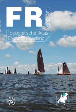 Topografische Atlas provincie Friesland   12 provincien