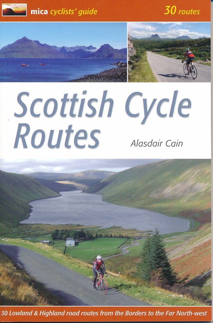 Fietsgids Scottish Cycle Routes   Mica cyclists guide