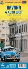 Plattegrond -  stadsplattegrond Havana - Cuba West   ITMB