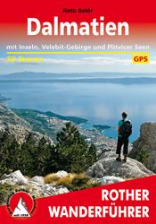 Wandelgids Wanderführer Dalmatien - Dalmatië   Rother   Reto Solèr