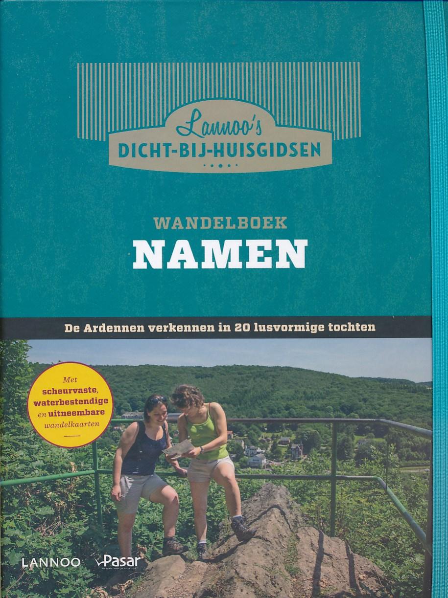 Wandelgids Wandelboek Namen   Lannoo