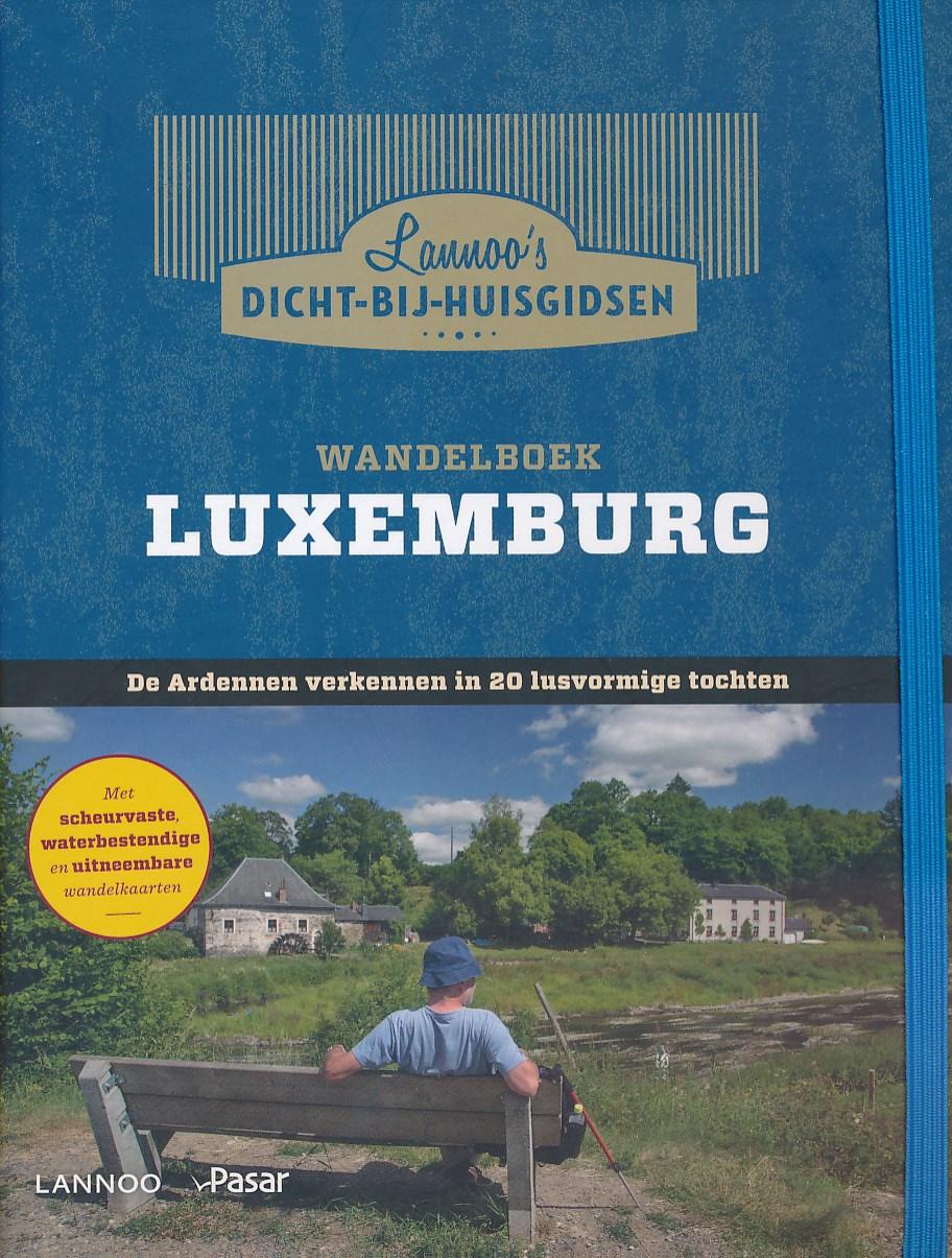 Wandelgids Wandelboek Luxemburg   Lannoo