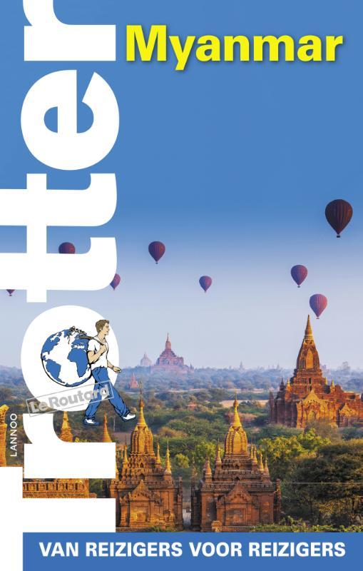 Reisgids Myanmar Trotter   Lannoo