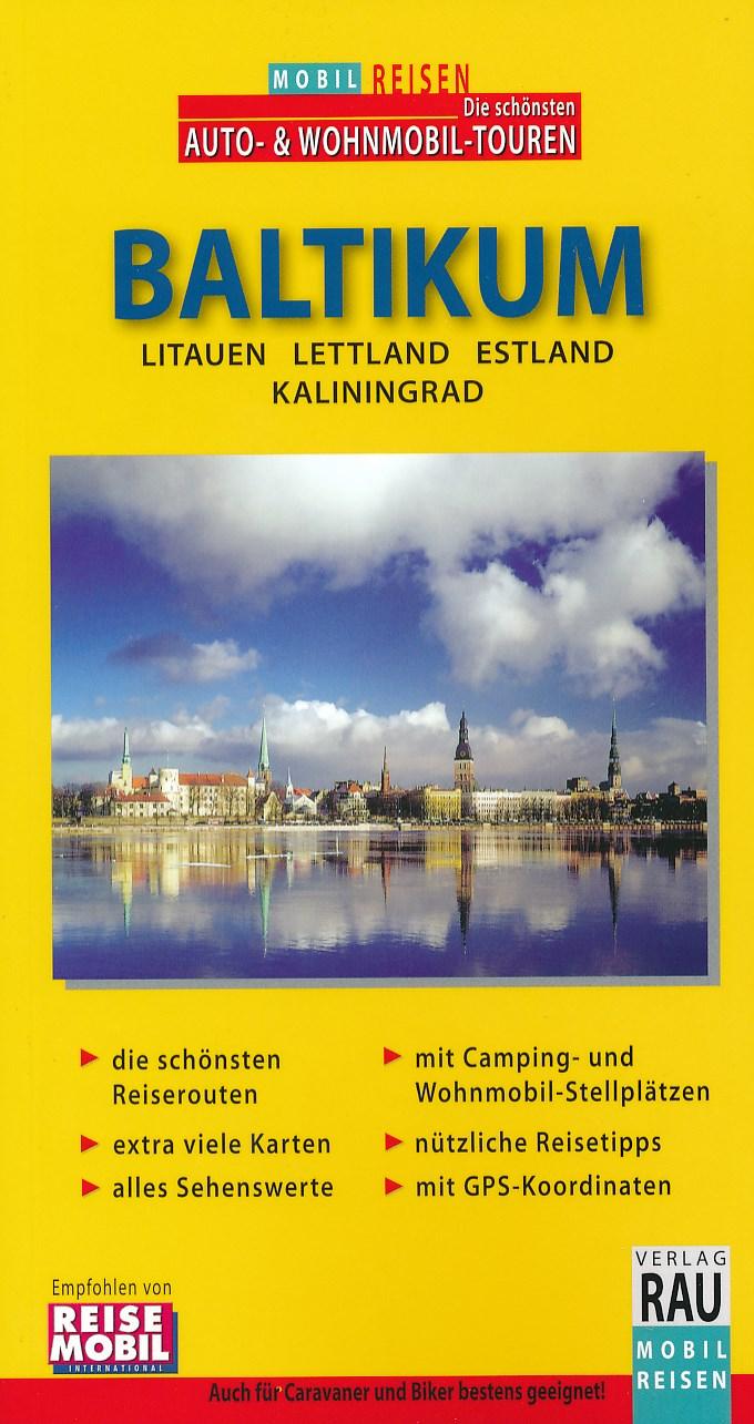 Campergids Baltische Staten - Baltikum Mobil Reisen   Verlag Rau
