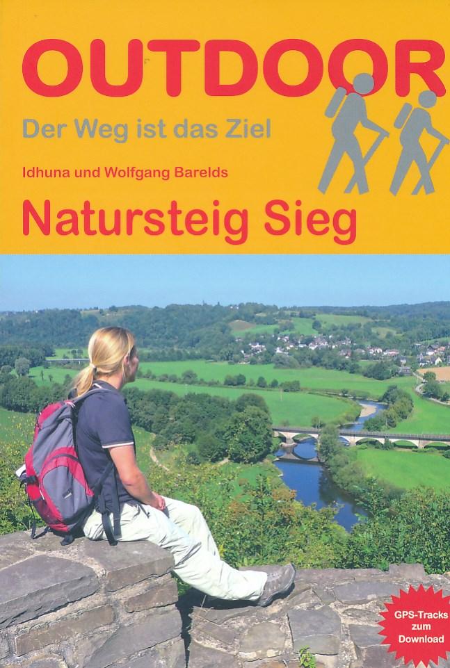 Wandelgids Natursteig Sieg   Conrad Stein Verlag   Idhuna & Wolfgang Barelds