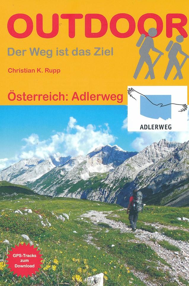 Wandelgids Österreich: Adlerweg - Oostenrijk   Conrad Stein Verlag   Christian K. Rupp