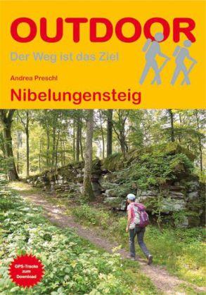 Wandelgids Nibelungensteig   Conrad Stein Verlag   Andrea Preschl