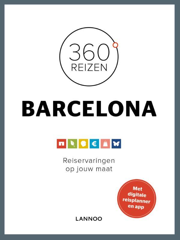 Reisgids 360 graden Barcelona   Lannoo