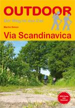 Wandelgids 367 Via Scandinavica   Conrad Stein verlag   Martin Simon
