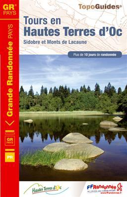 Wandelgids ref 811 Tours en Hautes Terres d'Oc   FFRP