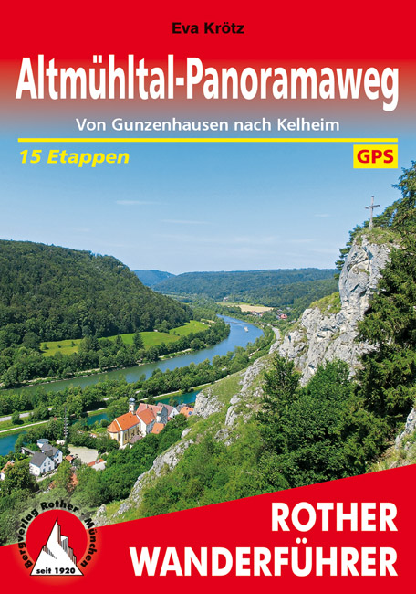 Wandelgids Altm�hltal-Panoramaweg   Rother   Eva Kr�tz