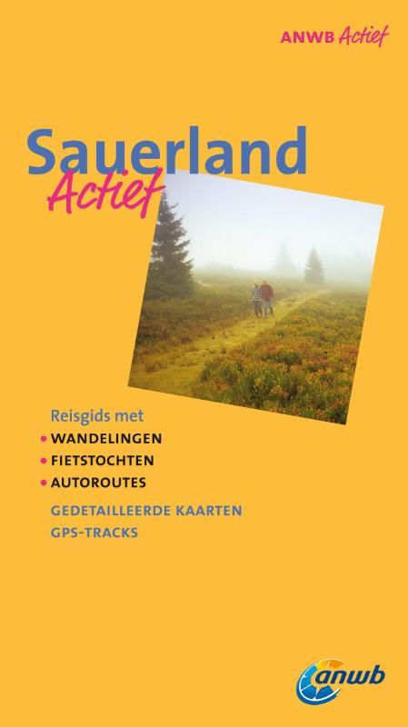 Wandelgids Sauerland   ANWB Actief