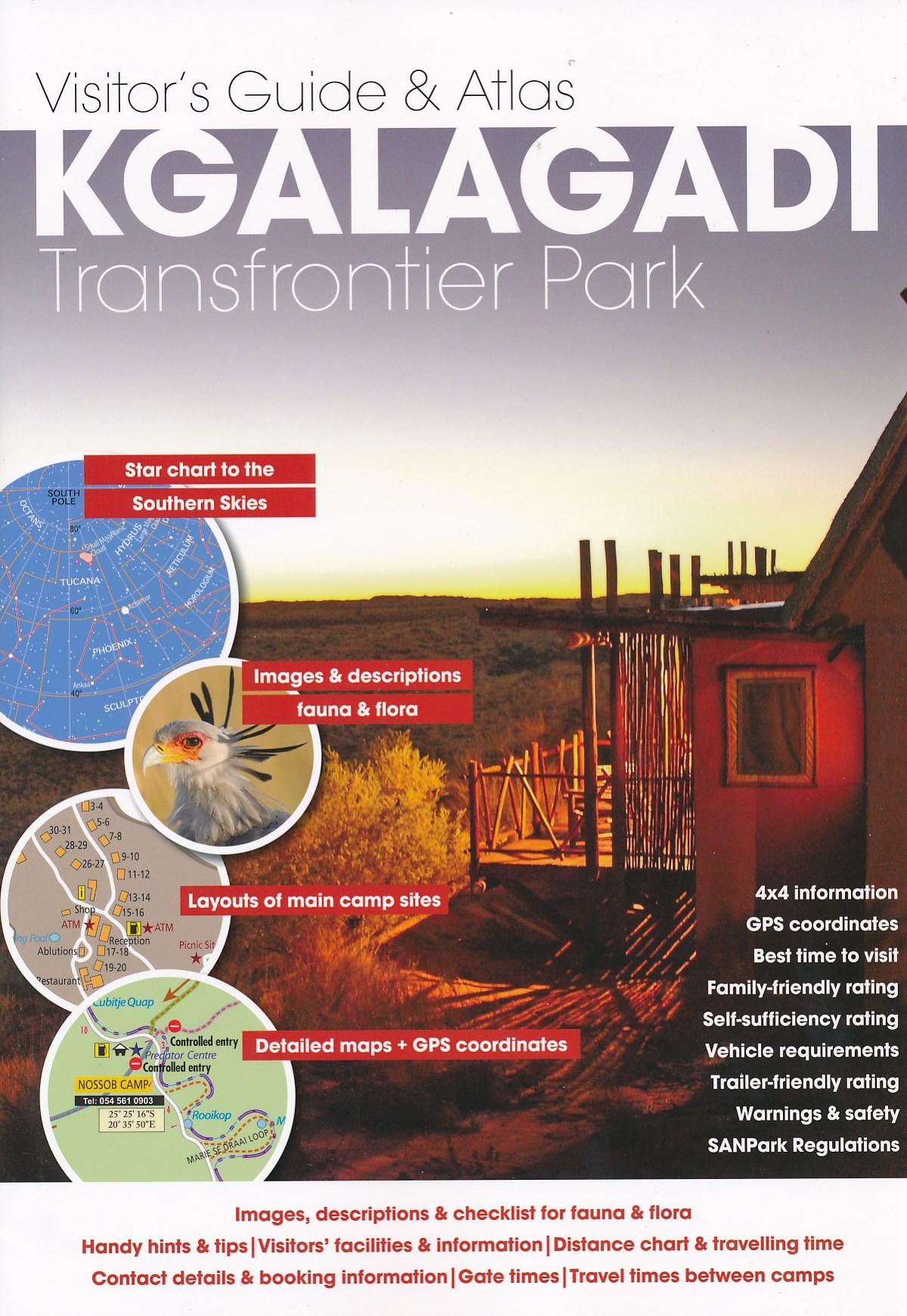 Wegenatlas - Reisgids Visitor's Guide to Kgalagadi Transfrontier Park   MapStudio