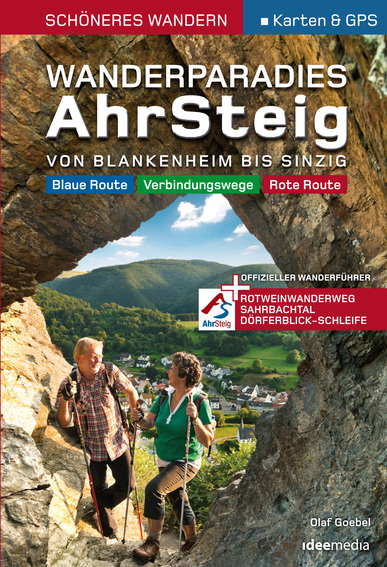 Wandelgids Wanderparadies AhrSteig   Ideemedia   Olaf Goebel