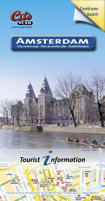 Stadsplattegrond - Centrumplattegrond Amsterdam   Citoplan
