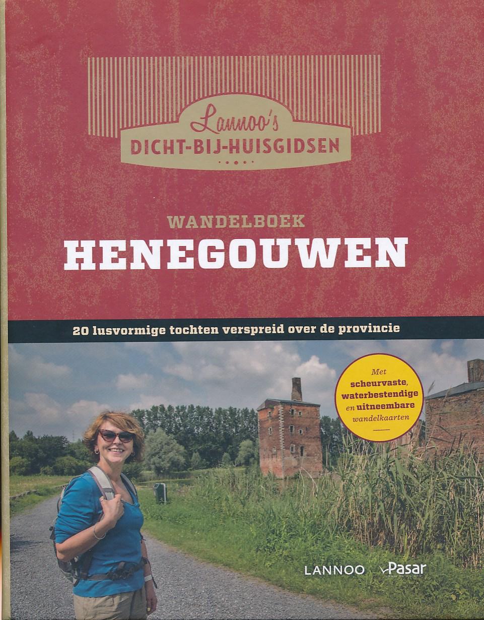 Wandelgids Henegouwen   Lannoo