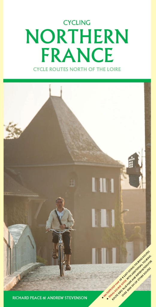 Fietsgids Cycling Northern France - Noord Frankrijk   Excellent Books
