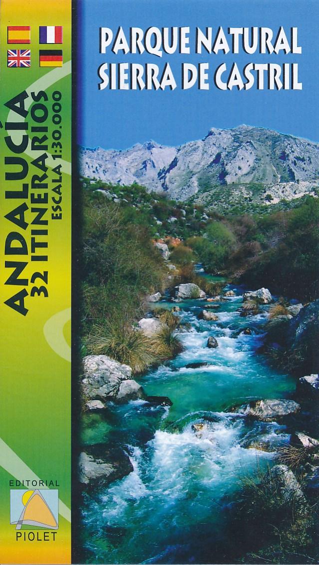 Wandelkaart Parque Natural Sierra de Castril   Editorial Piolet