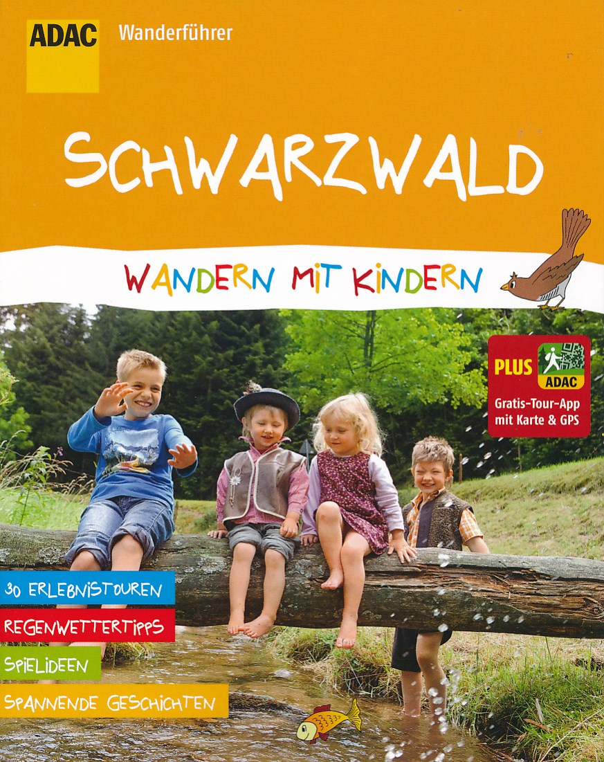Wandelgids Wandern mit Kindern Schwarzwald - Zwarte Woud   ADAC
