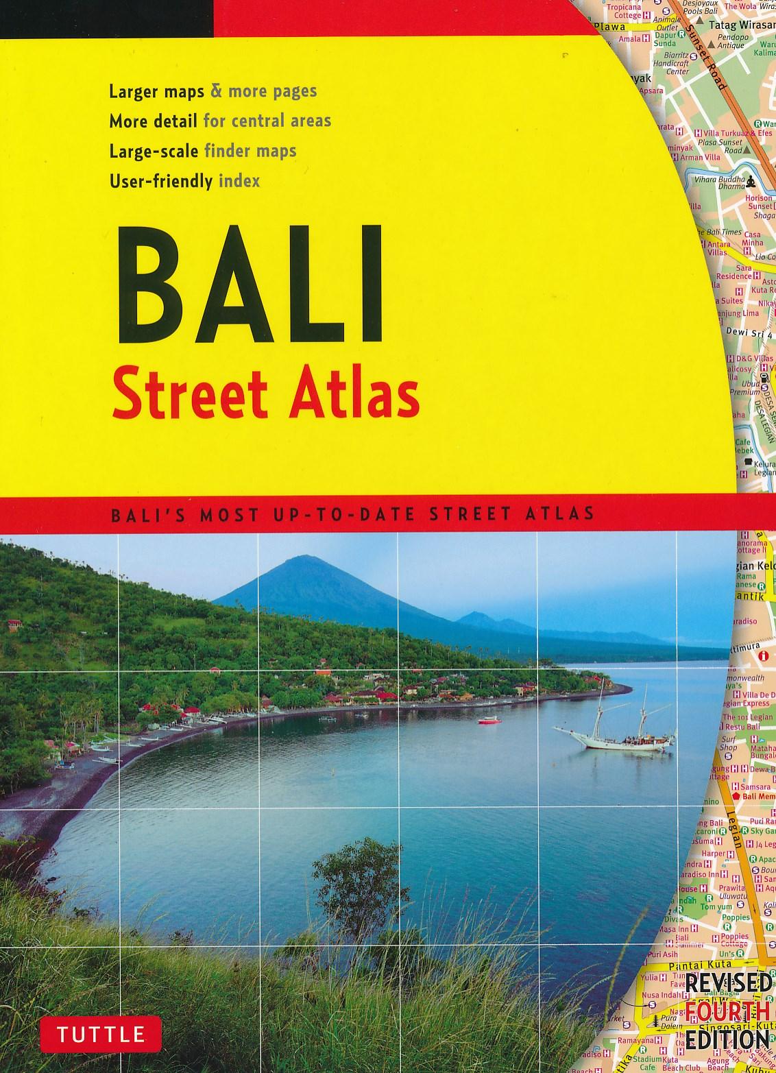 Wegenatlas Bali Street Atlas   Periplus
