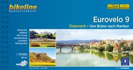Fietsgids Eurovelo 9 - Von Brünn nach Maribor   Esterbauer Bikeline