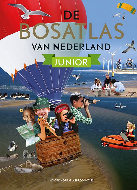 Atlas De Bosatlas van Nederland Junior   Noordhoff