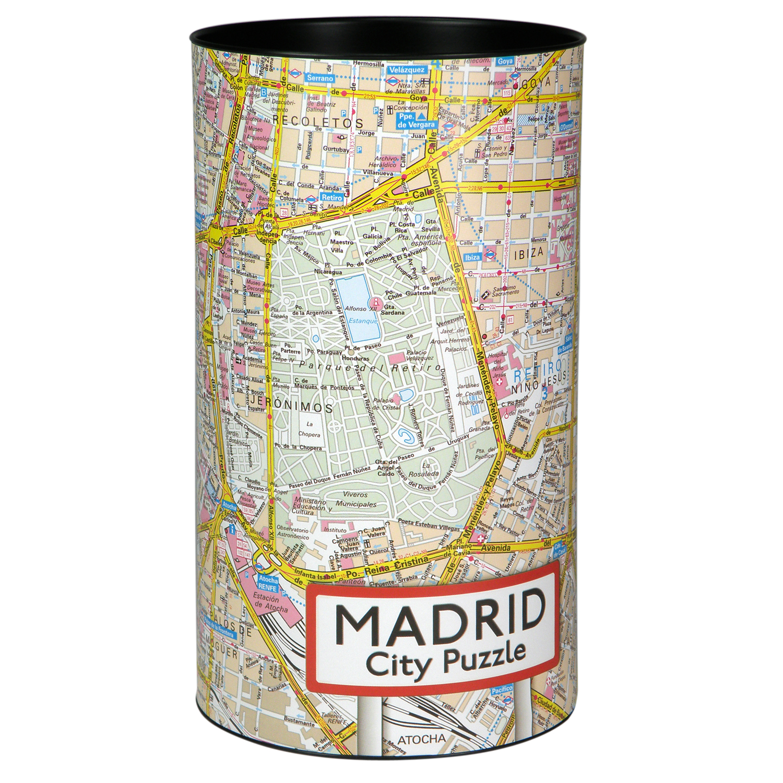 Puzzel City Puzzle - Madrid   Extragoods