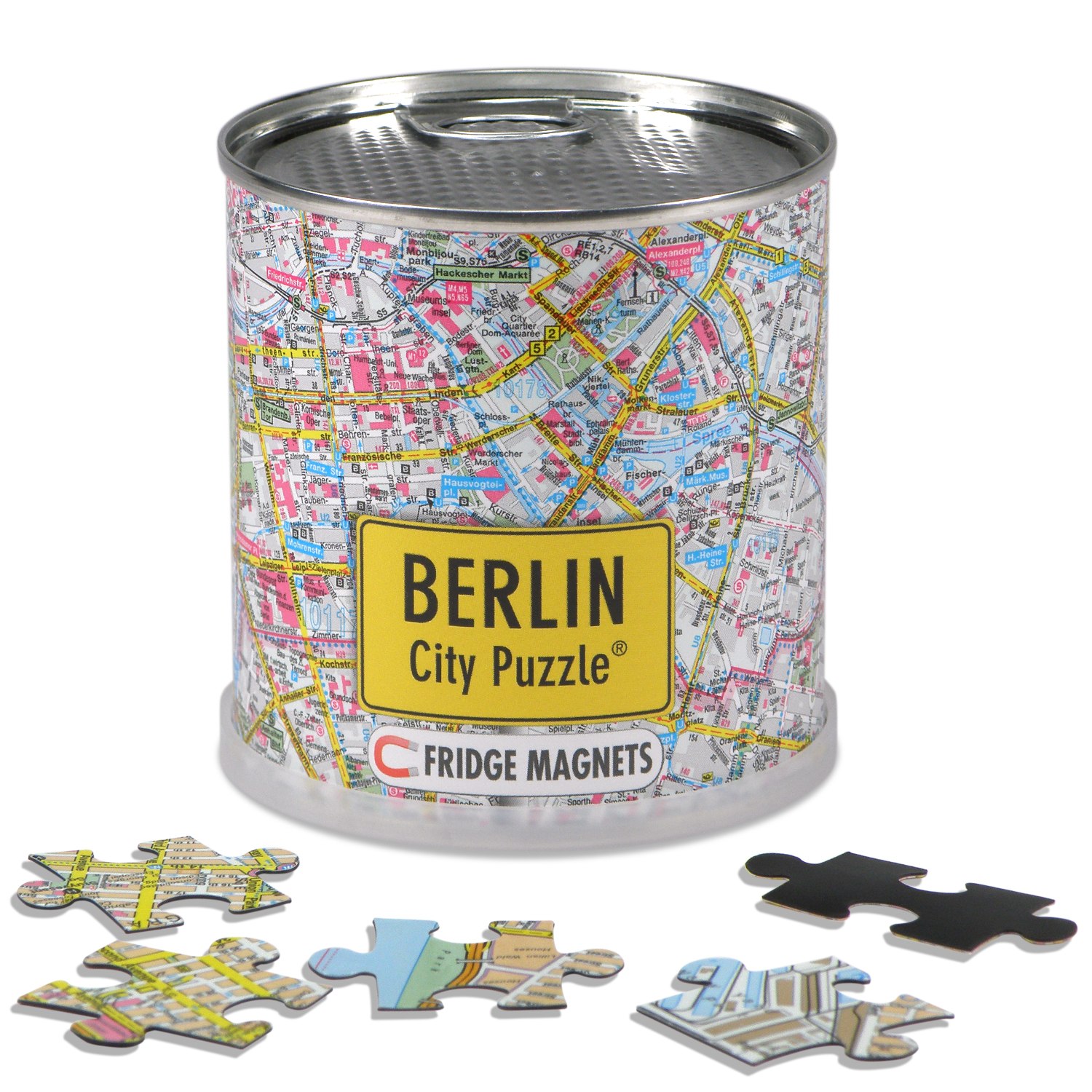Puzzel City Puzzle Magnets Berlijn   Extragoods