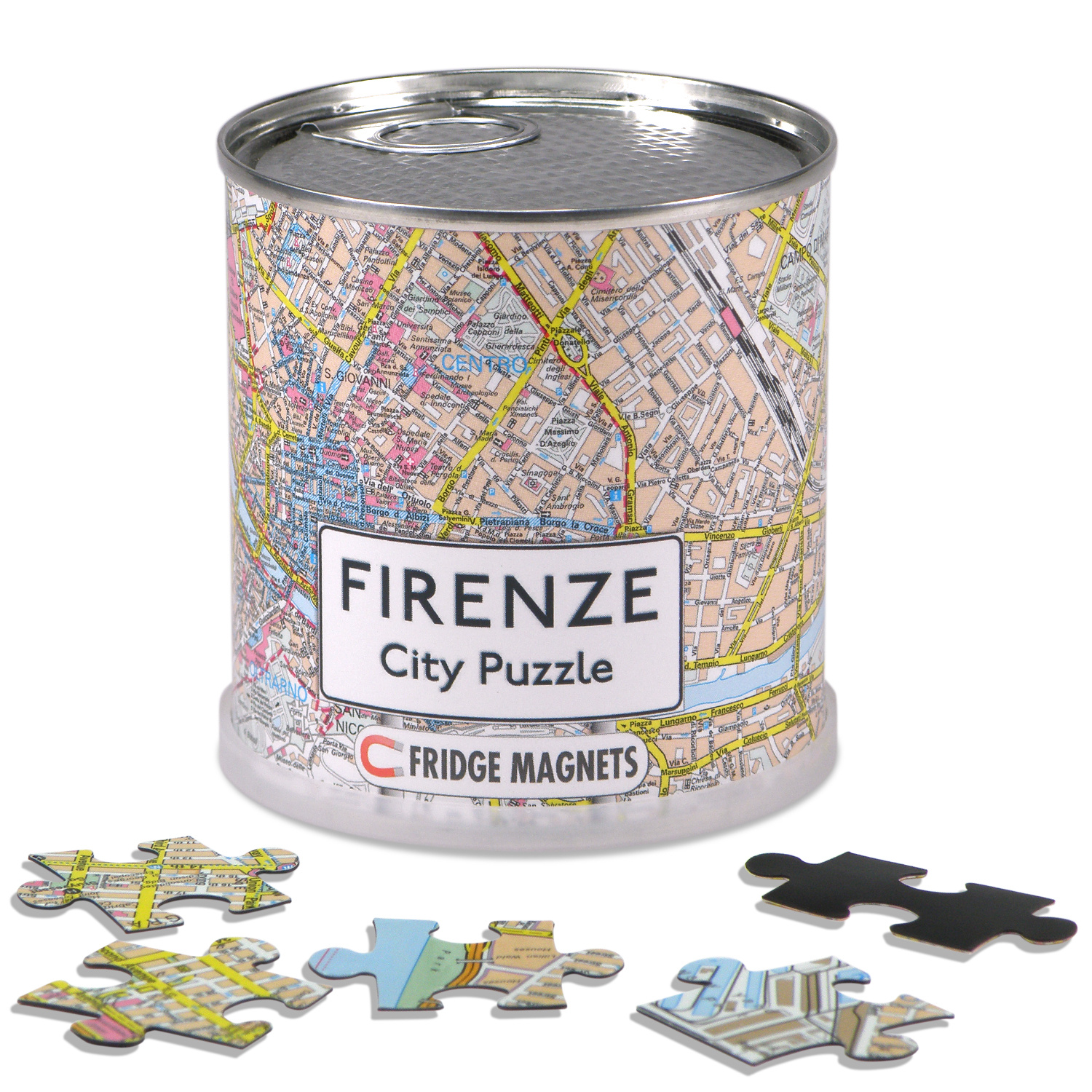 Puzzel City Puzzle Magnets Firenze - Florence   Extragoods