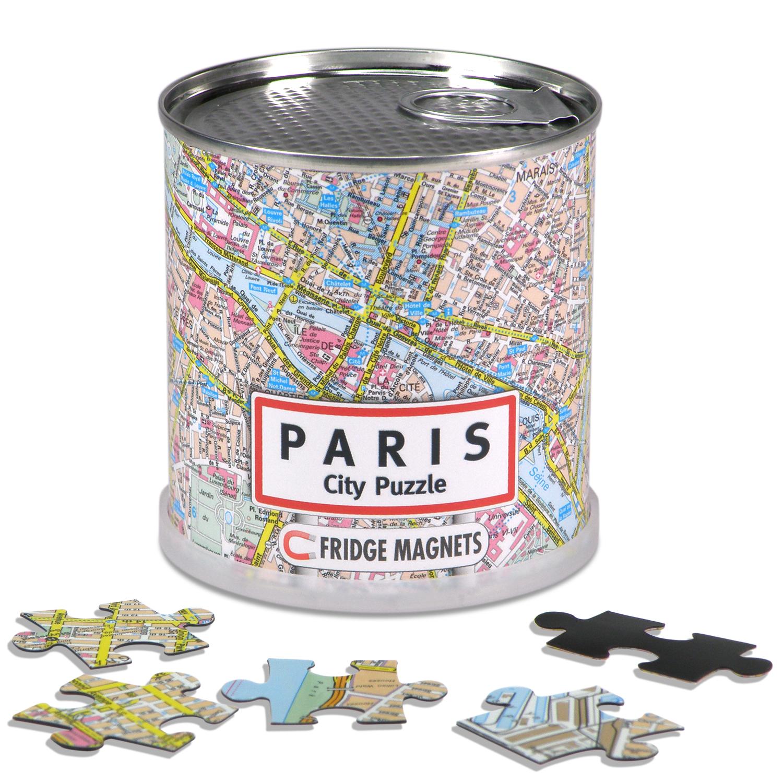 Puzzel City Puzzle Magnets Paris - Parijs   Extragoods