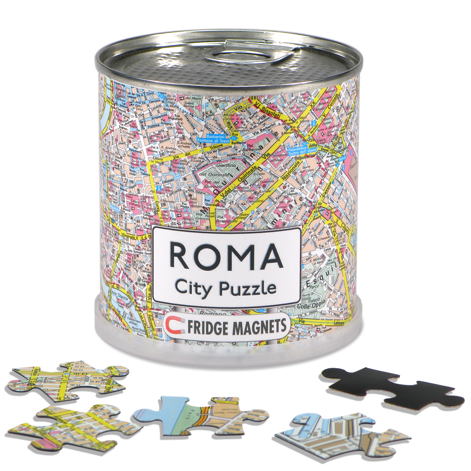 Puzzel City Puzzle Magnets Roma - Rome   Extragoods