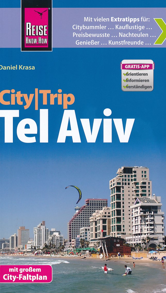 Reisgids CityTrip Tel Aviv   Reise Know-How   Daniel Krasa