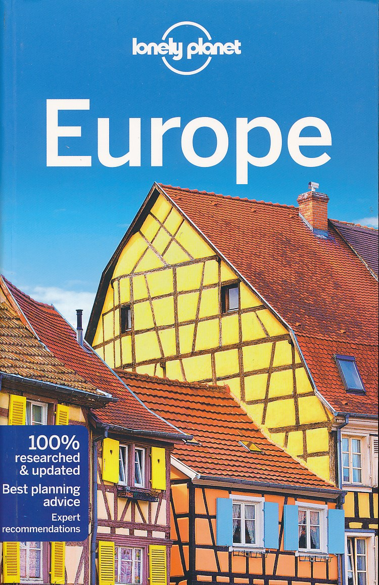 Reisgids Europe - Europa   Lonely Planet