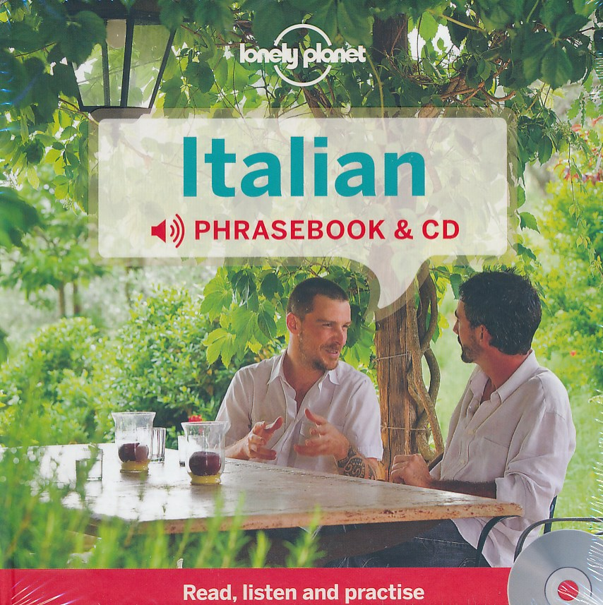 Woordenboek Taalgids Audio CD Italian Phrasebook - Italiaans  Lonely Planet