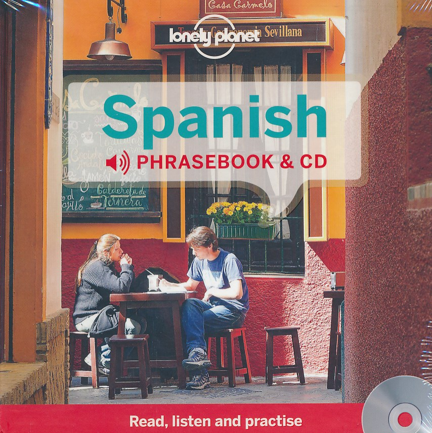 Woordenboek Taalgids Audio CD Spanish Phrasebook - Spaans   Lonely Planet