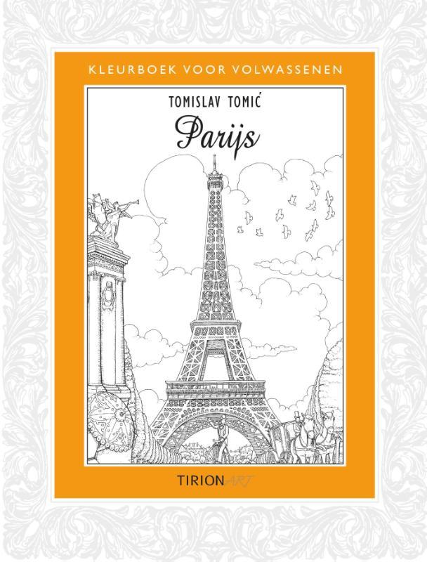 Kleurboek voor volwassenen Parijs   Kosmos    Tomislav Tomic