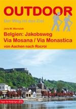 Wandelgids Belgien: Via Mosana / Via Monastica - België Jakobsweg   Conrad Stein Verlag   Jens M. Warnsloh