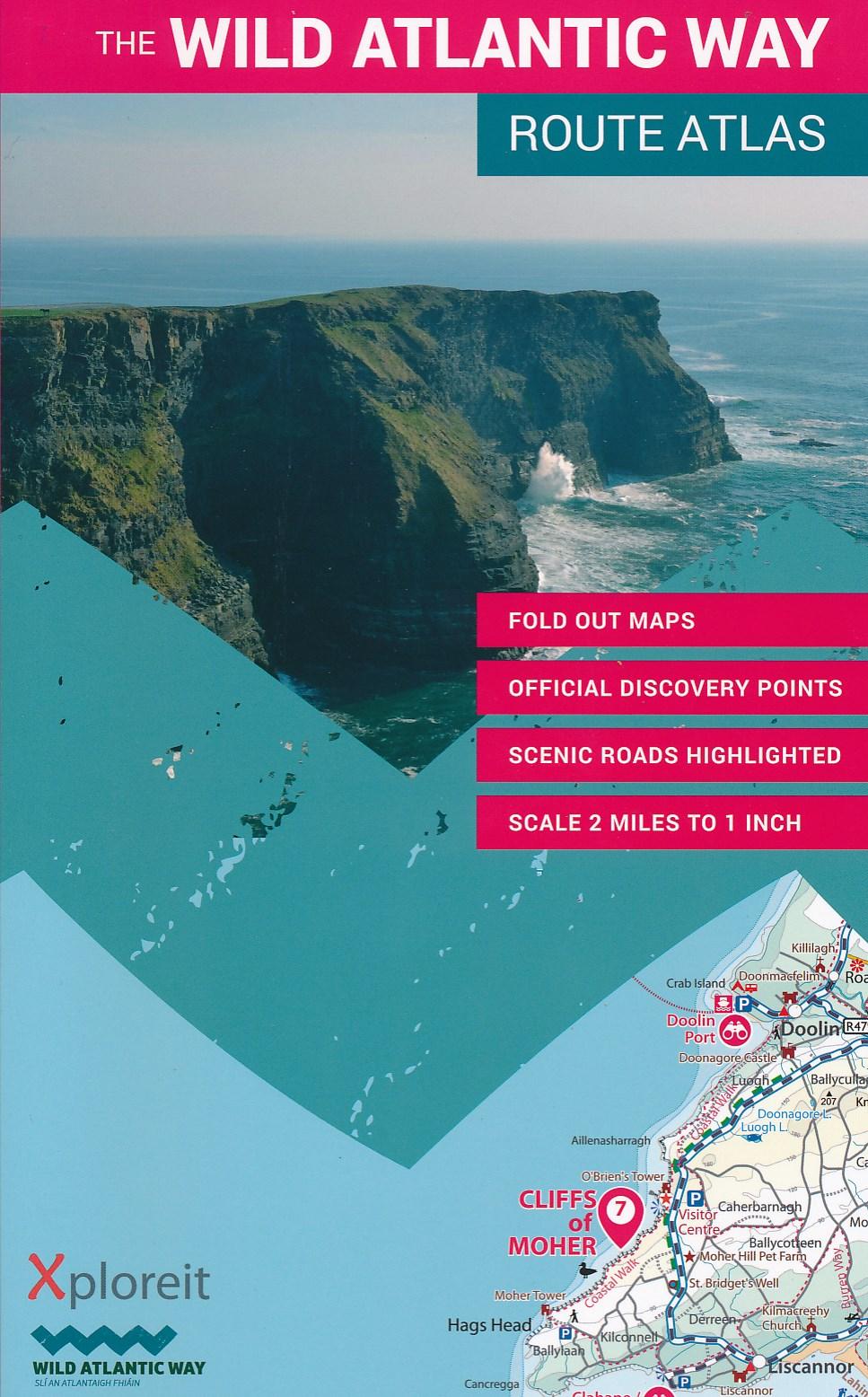 Atlas The Wild Atlantic Way Ierland   Xploreit
