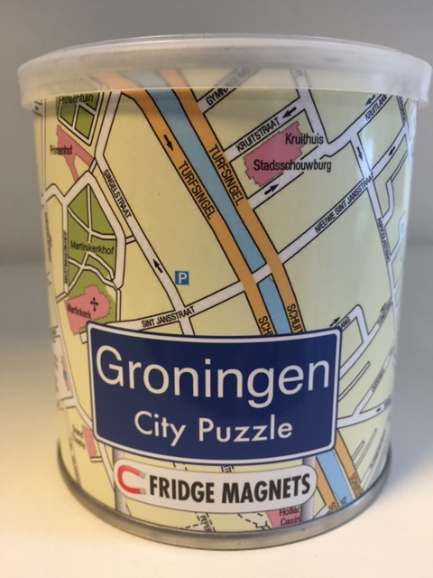 Puzzel Groningen - City Puzzle magneetpuzzel   Fridge Magnets