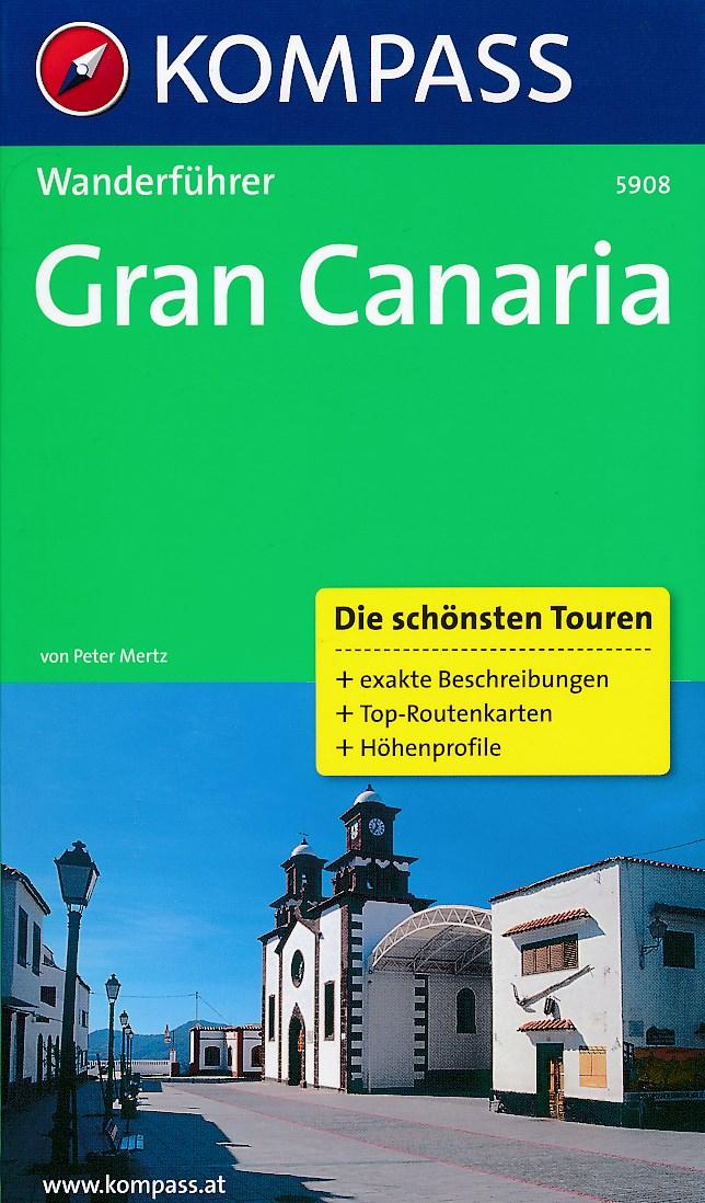 Wandelgids Gran Canaria 5908   Kompass   Peter Mertz