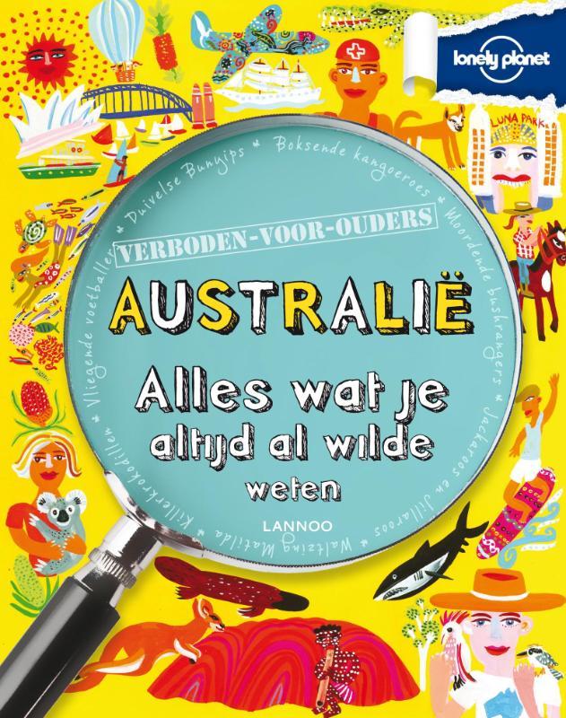 Kinderreisgids Australië - alles wat je altijd al wilde weten   Lannoo