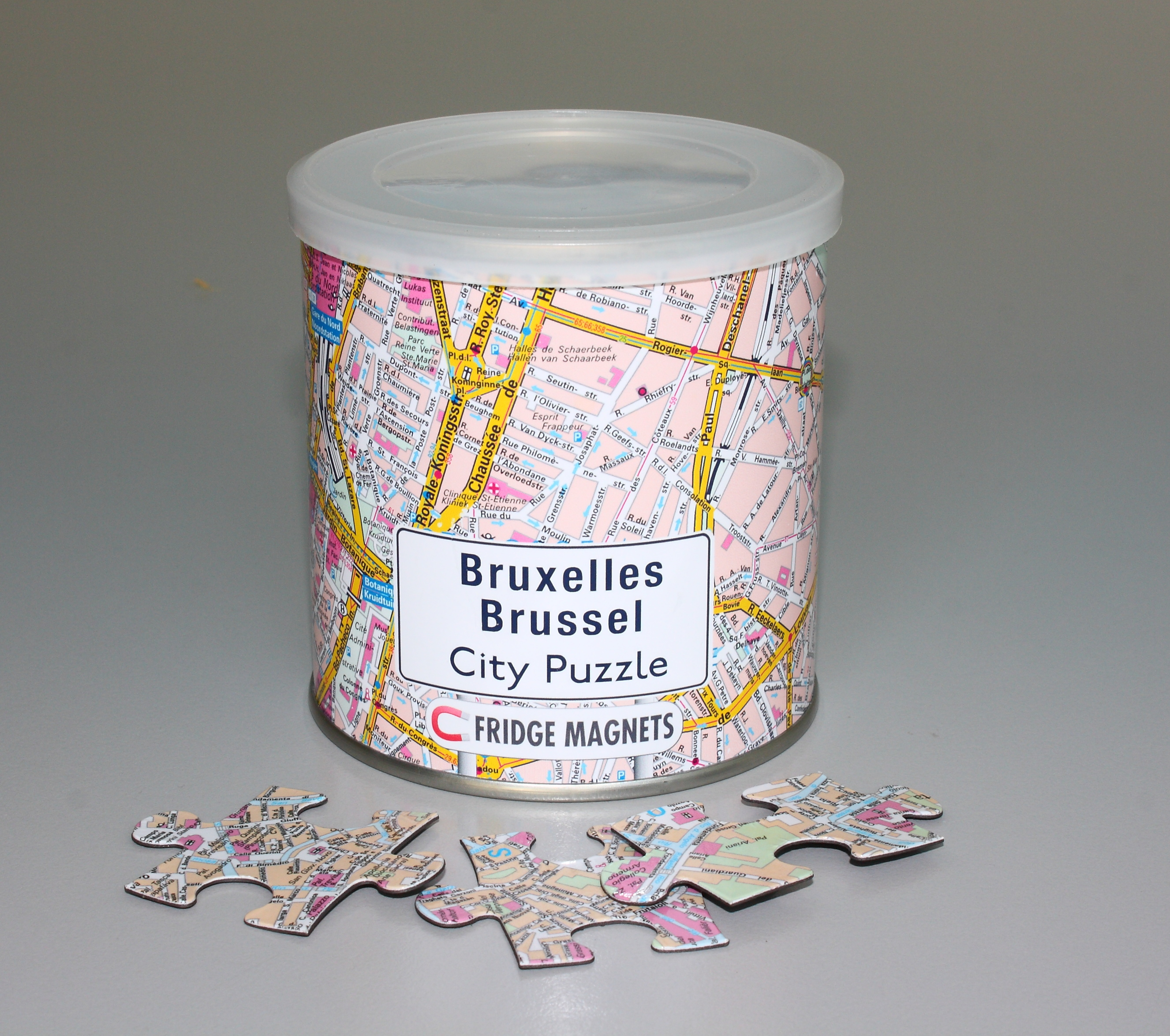 Puzzel City Puzzle Magnets Brussel   Extragoods