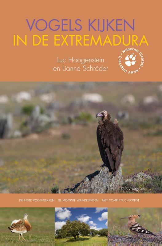 Vogelgids Vogels kijken in de Extremadura   KNNV